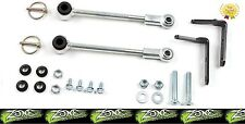 "1987-1995 Jeep Wrangler YJ Zone Front Sway Bar End Link Disconnects 0-2.5"" Lifts"