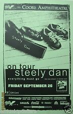 "STEELY DAN ""EVERYTHING MUST GO TOUR"" 2003 SAN DIEGO CONCERT POSTER -Donald Fagen"