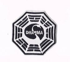 DHARMA INITIATIVE IRON ON / SEW ON PATCH Embroidered Badge Motif TV LOST PT174