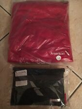 American Airlines Heritage Amenity Kit AMERICA WEST Limited Edition + FC PAJAMAS
