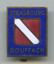 Insigne  école , de STRASBOURG -  ROUFFACH  ( Isler )