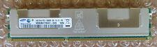 Samsung M393B5170EH1-CH9 4GB 2Rx4 PC3-10600R DDR3-1333 Reg ECC Memory & Heatsink