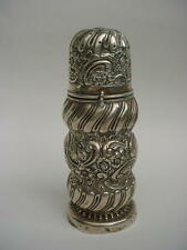 Lovely Victorian Silver Sugar Caster Muffineer Shaker by Rosenthal, Jacob & Co,