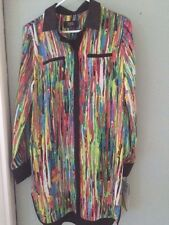 Prabal Gurung satin tunic shirt dress multicolor size Medium from Target