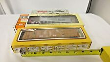 Lot 3 HO Scale Railroad Various Freight, Flatbed & Advertising Cars-ConCor,LifeL