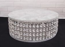 11 inch  CLEAR ACRYLIC CRYSTAL WEDDING CAKE STAND