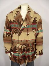 POLO COUNTRY RALPH LAUREN WOOL BLEND NAVAJO INDIAN BLANKET LINED JACKET MEN'S XL