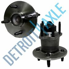 Pair: 2 New REAR ABS Wheel Hub and Bearing Assembly Cobalt G5 Ion Pursuit 4 Bolt