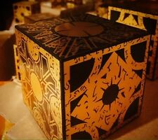 Lament Configuration puzzle box, Hellraiser Movie Prop Replica w/stand