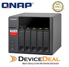 QNAP TS-563-2G 5-bay Diskless Business NAS - AMD Quad-core 2.0GHz CPU, 2GB RAM