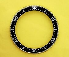 "SEIKO BEZEL W/ INSERT BLACK ""I"" FOR 6309 7040, 7290, 6306, 7002 & 7548 WATCH #84"