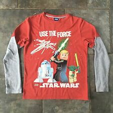 Official Star Wars Lego 'Use The Force' T Shirt Size Small Boys Mens