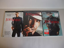 Justified Season 1 & 2  AND 4 DVD