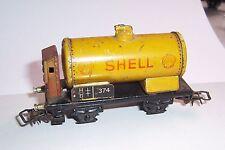 Vorkrieg H0 Märklin  Shell Wagen Bremserhaus Blech !
