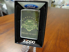 FORD F-150 TRUCK WORKS HARD PLAYS HARDER ZIPPO LIGHTER MINT IN BOX