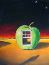 aceo Surreal GERLEVE Mystical Apple Antique Window Mystery Artist Trading Card