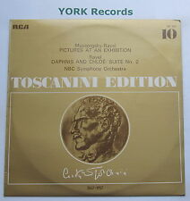 AT 107 - MUSSORGSKY - Pictures At An Exhibition TOSCANINI NBC SO - Ex LP Record