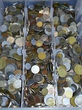 2 Pounds Of Foreign World Coins 2LBS + 2 Bonus Silver World Coins