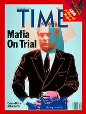 JOHN GOTTI 8X10 PHOTO MAFIA ORGANIZED CRIME MOBSTER MOB MAGAZINE COVER PICTURE