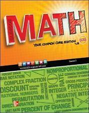 SH845 * 7TH GRADE, GLENCOE MATH: COMMON CORE, COURSE 2, VOL 2, STUDENT EDITION
