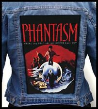 PHANTASM --- Giant Backpatch Back Patch / Classic 80's Sci-Fi Cult Horror
