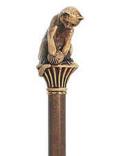 CANES -  CURIOUS CAT WITH BALL OF YARN  WALKING STICK - CAT CANE