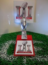 Super Bowl LI (51) Pocket Pro Mini Lombardi Trophy With Stand