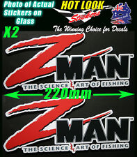 Z man Swinbait MinnowZ Lures Sticker Decal X2 for Fishing boat  tackle Box