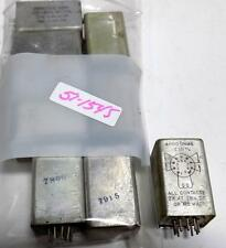 PRICE ELECTRIC CORP. 4000Ω ±10% PLUG-IN TYPE DPDT RELAY 5346-29 HP LOT OF 9