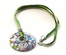 Collana Donna Antica Murrina Millefiori Vetro di Murano Made in Italia