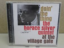 Doin' The Thing Horace Silver Quintet At Village Gate LIVE 1961 CD Blue Mitchell