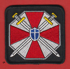 RESIDENT EVIL UMBRELLA CORPORATION LOGO PATCH ( Red /Black)