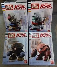 Bandai SD Gundam Build Model Candy Toys Vol.1 RX-78-2 GM Acguy Z'Gok - Set of 4