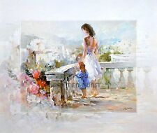 Willem Haenraets: Breathtaking view Aussicht Fertig-Bild 50x60