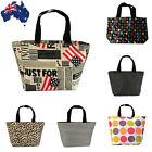 Lunch Box Bag Handbag Shopper Tote Picnic Food Drink Carrier CTOTE45