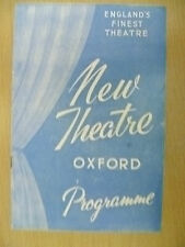 New Theatre, Oxford Programme 1959- LET THEM EAT CAKE by F Lonsdale