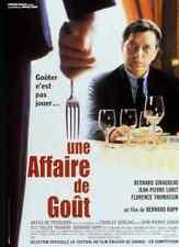 Bande annonce cinéma 35mm 2000 AFFAIRE DE GOUT B Giraudeau JP Lorit CH Berling