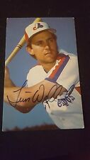 1988 Tim Wallach, Montreal Expos Team Issue Color Photo