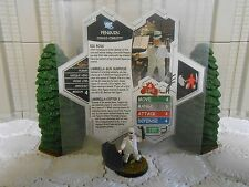 Heroscape Custom Penguin Double Sided Card & Figure w/ Sleeve DC