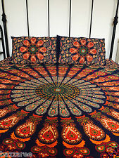 Indian Tapestry Wall Hanging Mandala Throw Bedspread Pillow Cover Double Blue