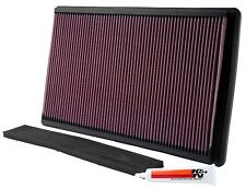 K&N Air Filter Fits Corvette 1990-1996 GTCA00168   Auto Parts Performance Car