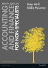 Accounting and Finance for Non-Specialists 9E by Atrill, McLaney