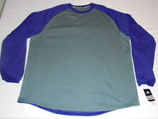adidas Climawarm 4XL Thermal Thick Shirt Sweatshirt Purple Gray Big and Tall NWT