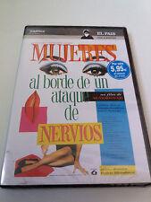 """DVD """"MUJERES AL BORDE DE UN ATAQUE DE NERVIOS"""" PRECINTADO SEALED PEDRO ALMODOVAR"""