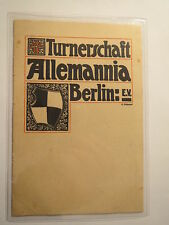 Berlin - Turnerschaft Allemannia / Studentika