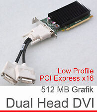 DUALHEAD 512MB NVIDIA QUADRO NVS300 LOW PROFILE PCI-E 632486-001 GRAFIKKARTE G14