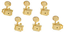 NEW Gotoh SD91 6-in-line Vintage Style Tuners Keys for Fender Strat Tele - GOLD