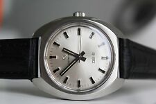 CERTINA DS-2 *near NOS, 1975,  SILVER dial!!*