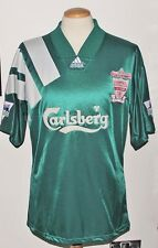 VINTAGE LIVERPOOL ADIDAS 1992 CENTENARY PLAYER SHIRT No.6 XL