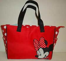 Diaper Bag Tote Large Disney Minnie Mouse Red White Dots NWT